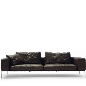Flexform Lifesteel sofa 240cm - Sort