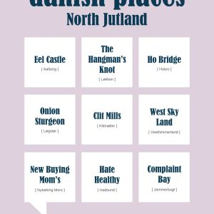 Danish places - North Jutland