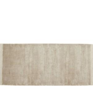 Nordal Filuca Shiny tæppe - 75x200 - beige