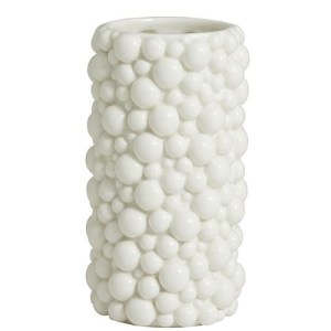 Nordal Naxos vase - hvid