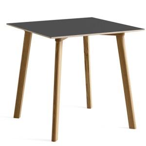 HAY Cph Deux 210 Spisebord - 75x75cm - Grå/Eg