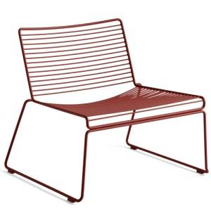 HAY Hee Lounge Chair - Rust