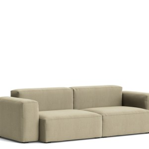 HAY Mags Soft Sofa - Low Arm - 2 1/2 Pers. - Atlas 411