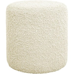 Jakobsdals Royal puf - offwhite boucle - 44x45