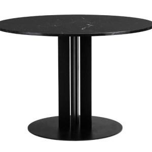 Normann Copenhagen Scala Bord Ø130 Black marmor