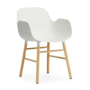 Normann Copenhagen Form Armchair Hvid - Eg