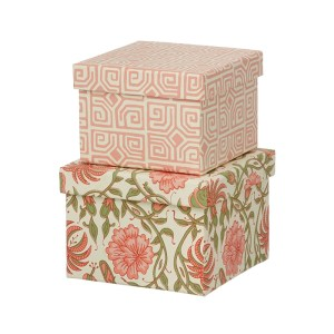 Cubic Duo box - 2 stk - Thilla Old Rose - Small fra Bungalow