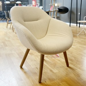 HAY About A Lounge Chair (AAL82) Soft - Flamiber Cream - DEMO.