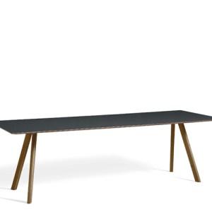 HAY CPH30 Table - 250x90cm - Valnød - Dark Grey Linolium
