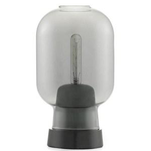 Normann Copenhagen Amp bordlampe - smoke/sort