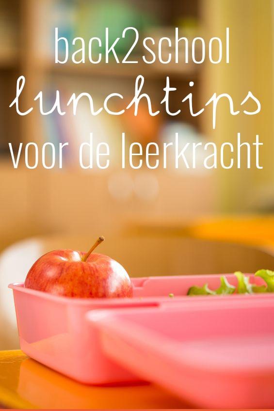 Back2school gezonde lunches