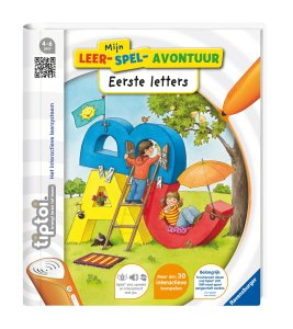 Review: tiptoi stift + Eerste letters