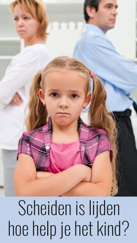 Scheiden is lijden, hoe help je het kind?