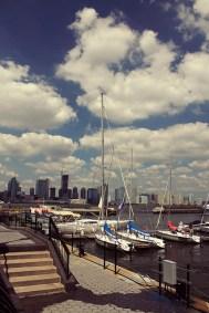 view from American Merchant Mariner's Memorial