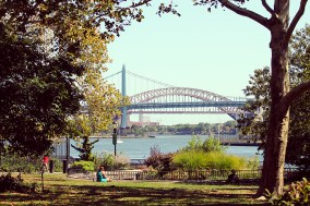 View from Carl Schurtz Park New York
