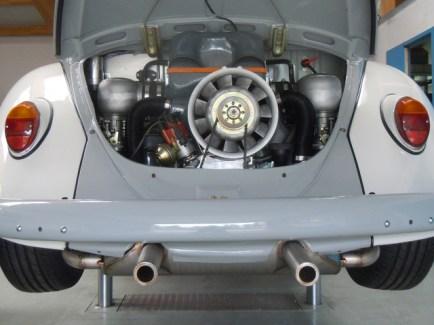 2,2l Motor bereit für die Straße