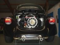 2,4 l KLAUS-Motor kurz nach der Montage (2010)