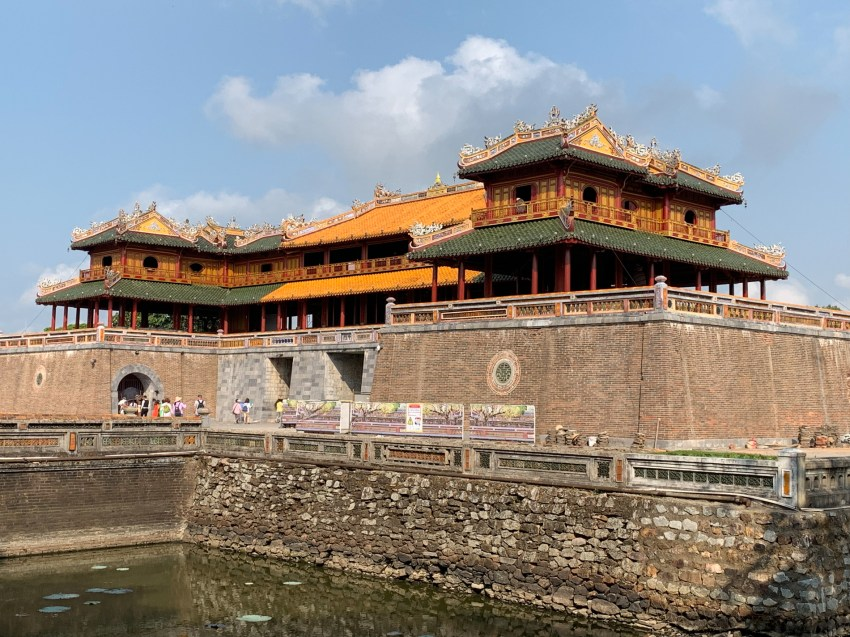 Ngo Mon Gate, the main entrance to the Imperial City in Hue