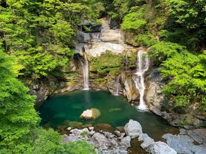 An idyllic spot close to Shikibidani Onsen