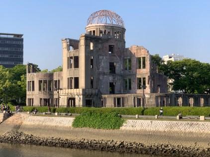 Hiroshima Peace Memorial in Hiroshima Peace Memorial Park