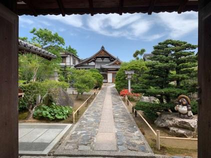 Wandering around the historic Arashiyama district in Kyoto
