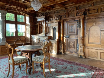 A state room (ger. Prunkraum) dating back to 1618, immaculately preserved in my B&B in Bilten