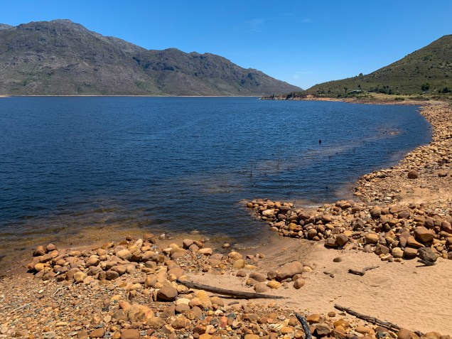 The Berg River Dam is another important part of the water supply system of the Western Cape region.