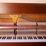 Klavier von innen