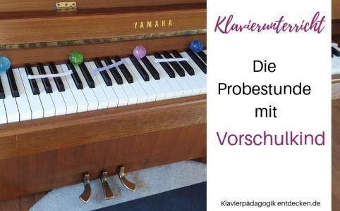 Klavierunterricht mit Vierjährigen, Blog Klavierunterricht