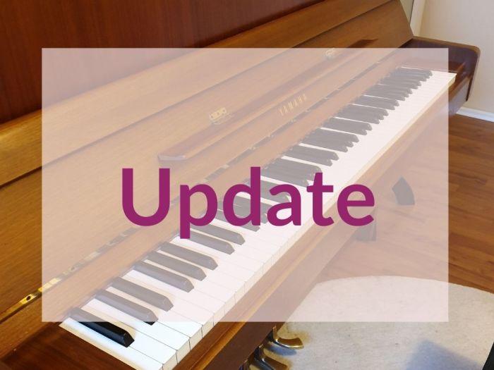 Onlineunterricht Klavier