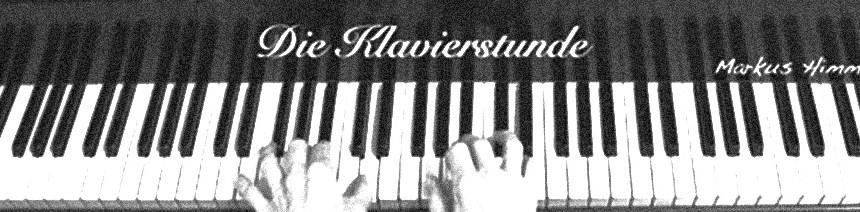 """Dies ist das Logo von """"Die Klavierstunde"""", eine Klaviertastatur"""