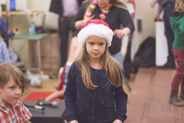 Smillas första jullov började med gröt och sång