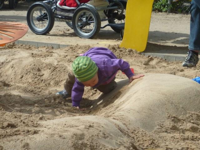 Ännu en dag i sanden