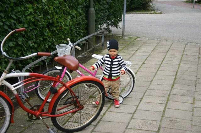 Smilla önskar sig en cykel till julklapp