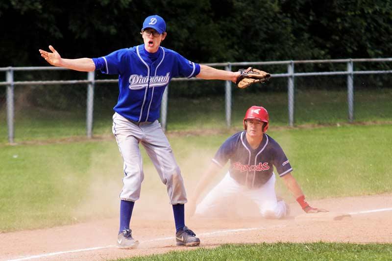 heren Bedrocks, honkbal
