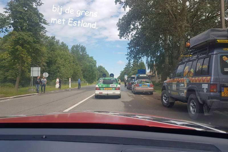 Grens-Estland, carbage run 2017