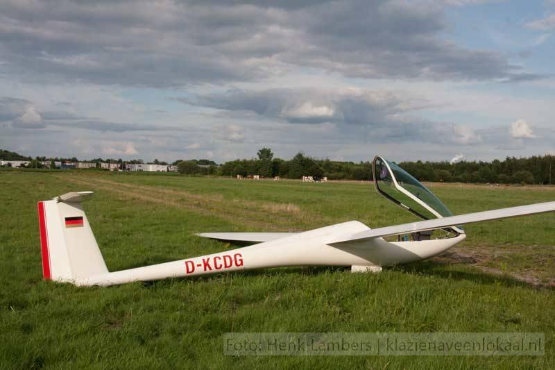 Zweefvliegtuig, noodlanding