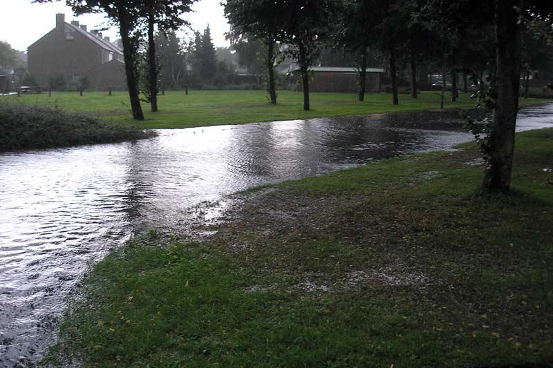 wateroverlast-Kruidenveld