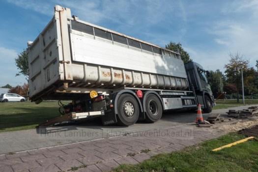 vrachtwagen Koriander