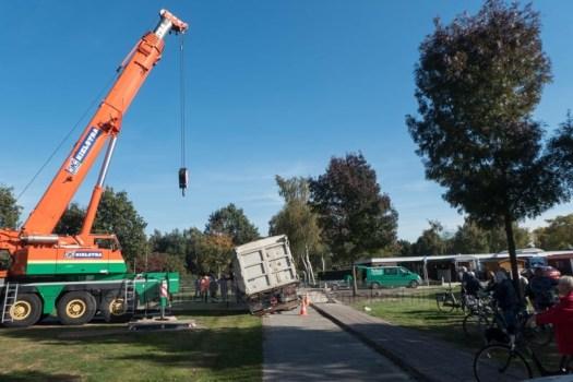 vrachtwagen Koriander berging 2018