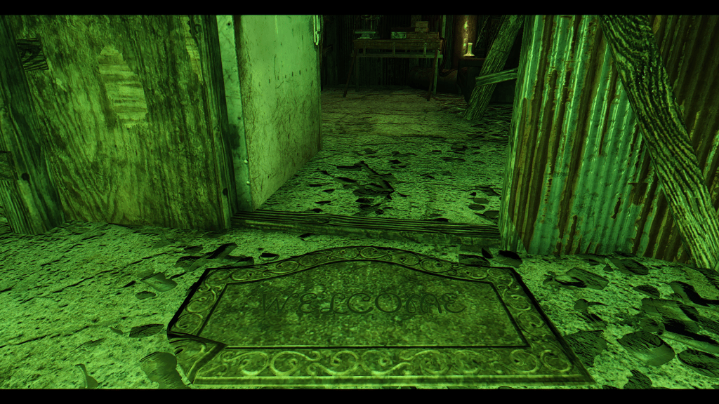 Fallout4_Garage Maze Welcome