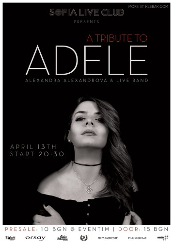 Poster | Adele Tribute Show