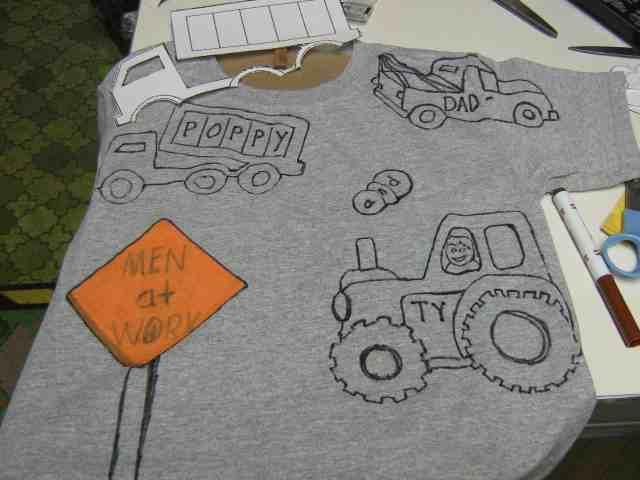 T-Shirts aufpeppen