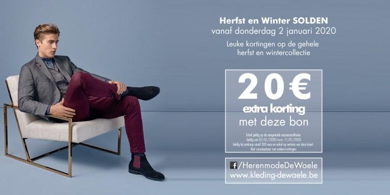 Solden op herst en winter collectie 2019-2020