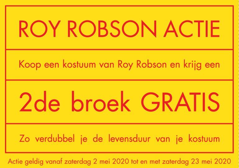 Roy Robson actie 2020