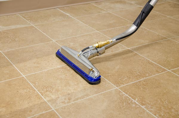 tile and grout cleaning tools wet