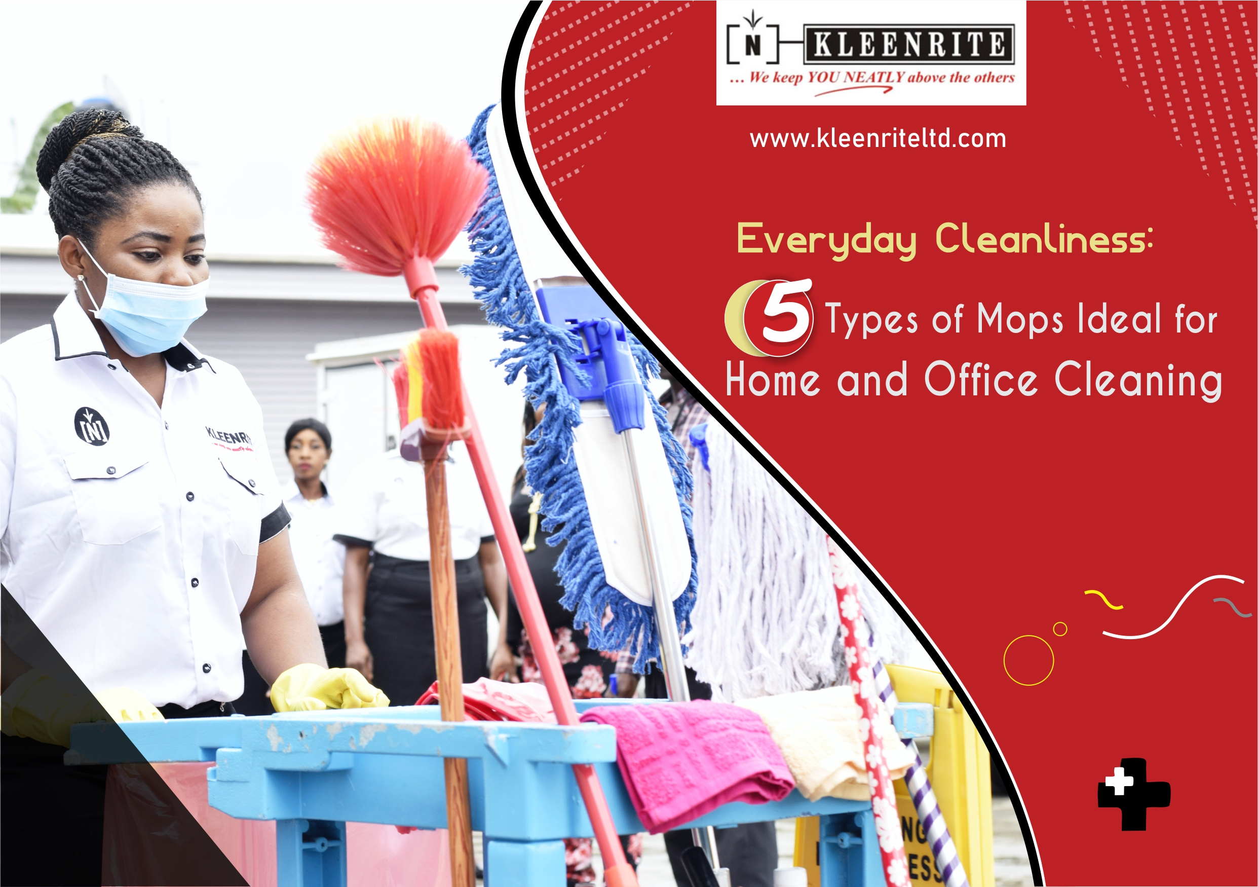 5 Types of Mops Ideal for Home and Office Cleaning