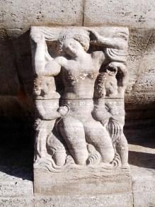 Fountain, Detail