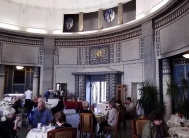 A former bath house turned into a café