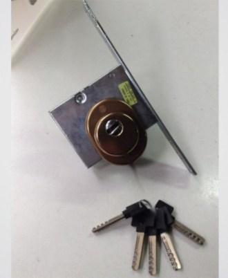 Κλειδαριά ξύλινης πόρτας CISA 31